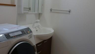 洗面室のリフォーム、おしゃれ・シンプルデザインの事例