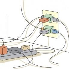 【住まいの危険対策】地震対策は寝室と子ども部屋を重点的に!火災対策は、コンセントのトラッキング現象に気をつけようの画像