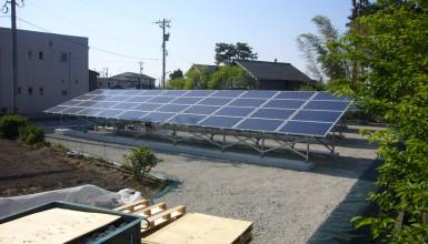 太陽光発電設備工事  37.74kw  カナディアンソーラー