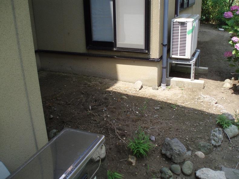 坪庭からの風が心地良いです♪庭工事