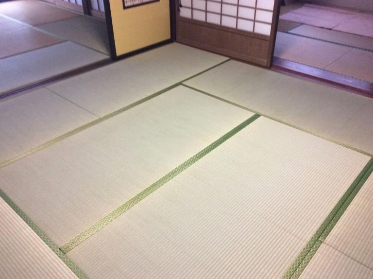 防蟻処理と和室床改修