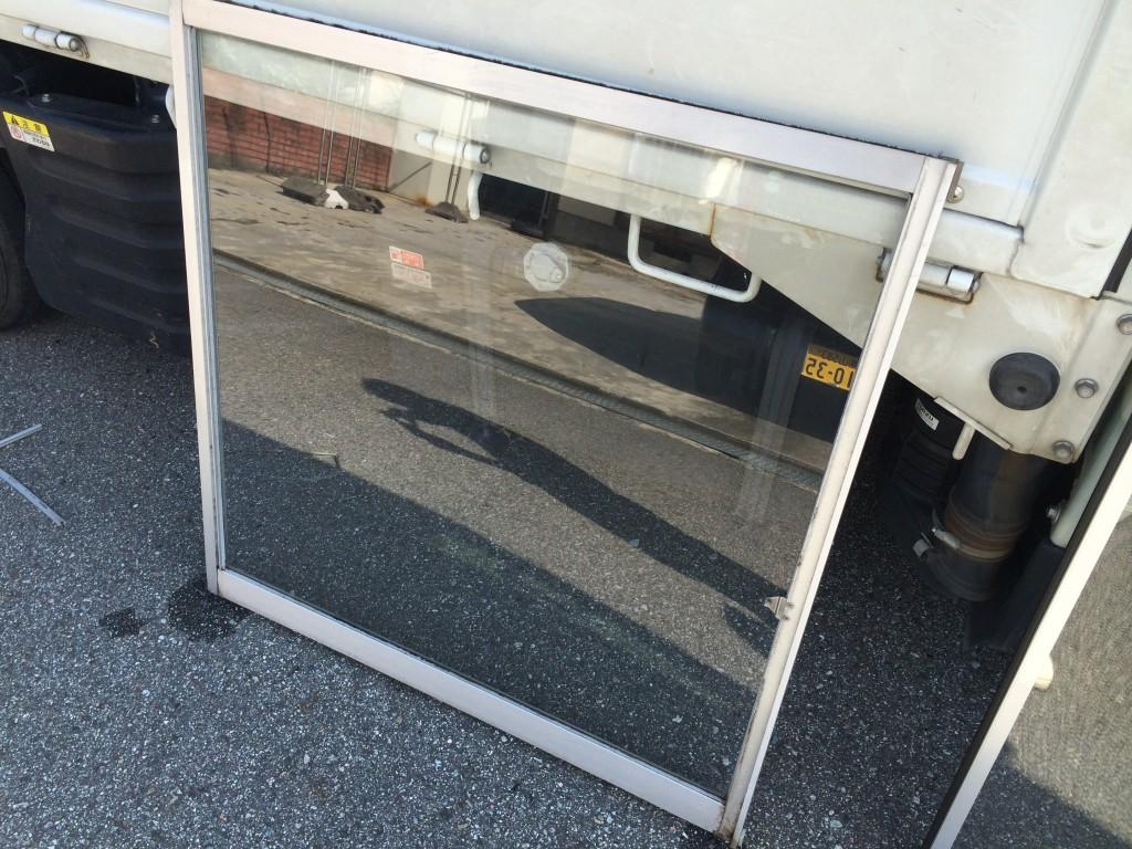 単板ガラスを簡単リフォームで複層ガラスに交換