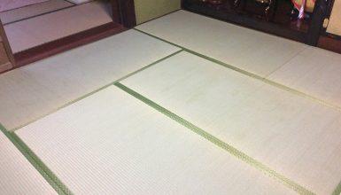 白蟻対策・和室床工事