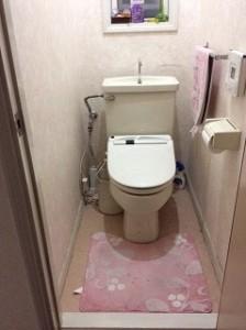 最新のタンクレストイレでお掃除ラクラク、暖かいトイレへ