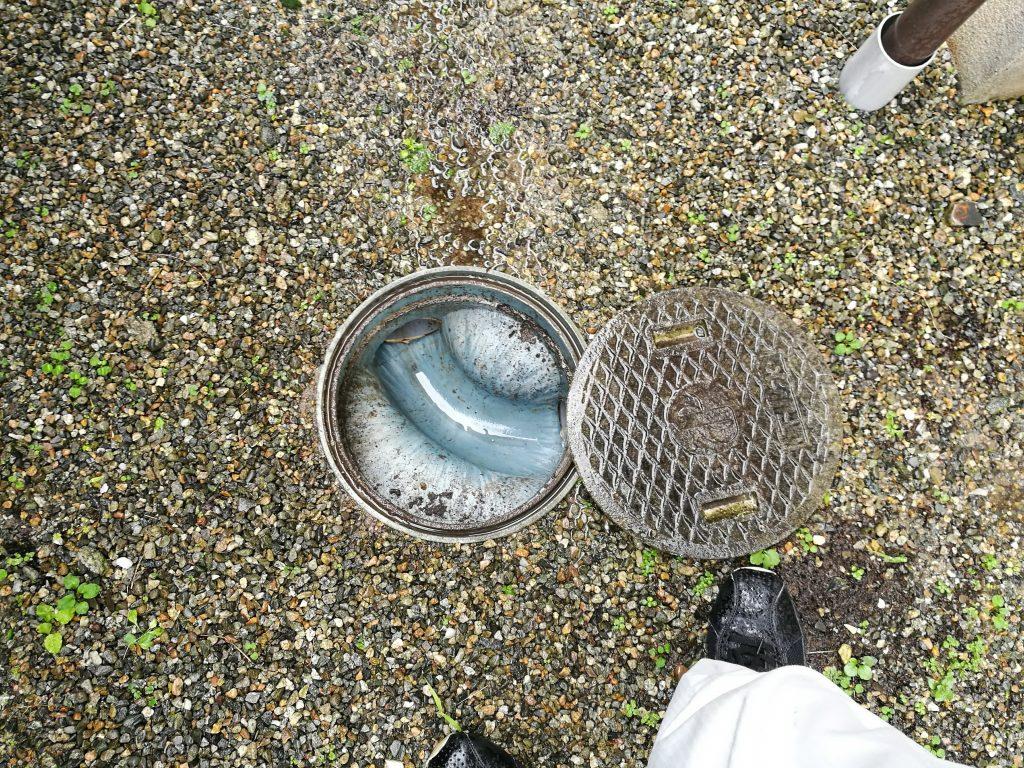 インスペクション排水管