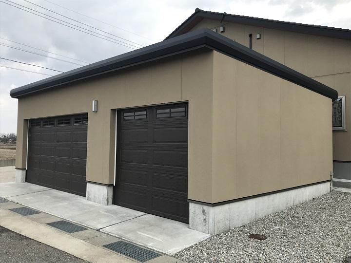 3台入りガレージ車庫 (キャナディ)