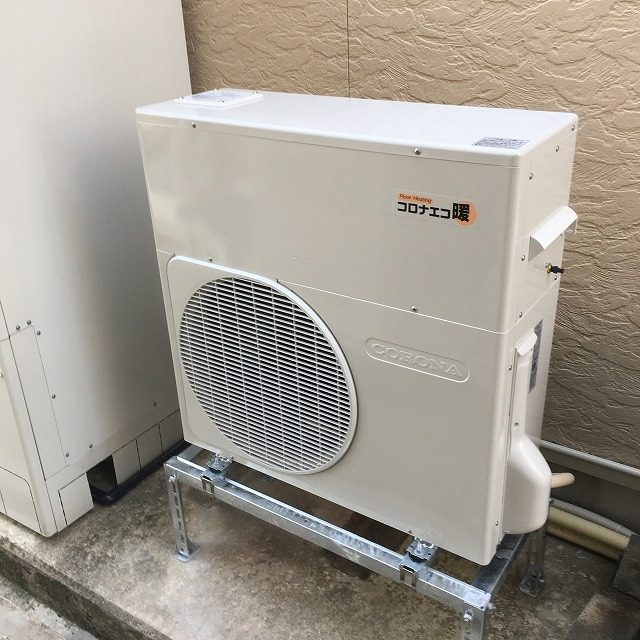 電気ヒートポンプ式床暖房で快適・節約生活