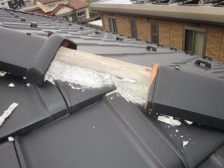 瓦屋根補修工事