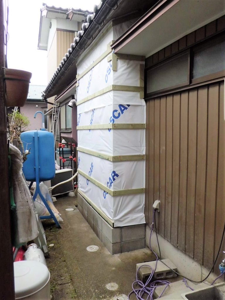 浴室改装リフォーム~浴室拡張工事~