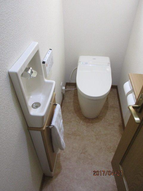 トイレすっきり快適リフォーム