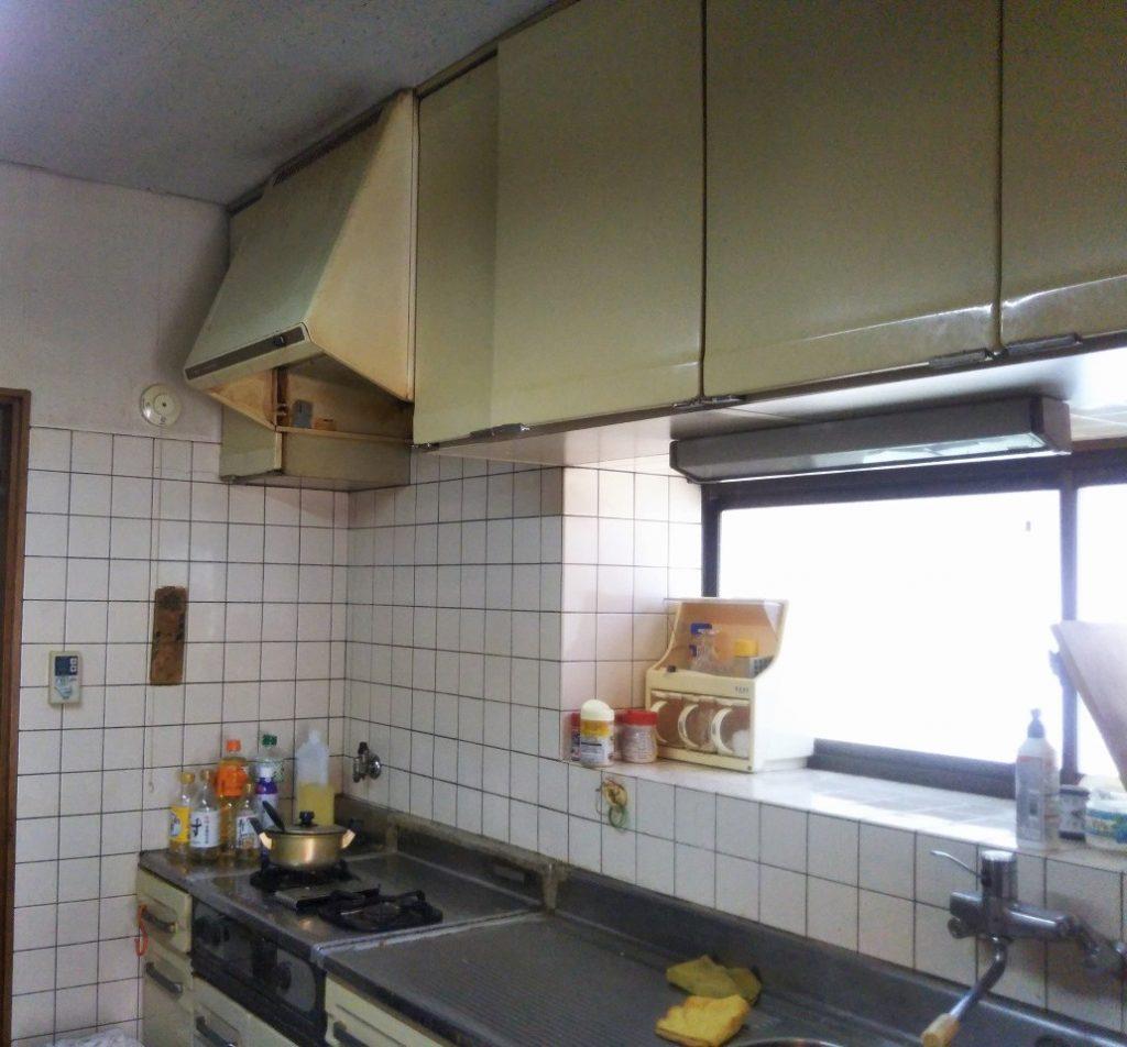 システムキッチン入替え工事|クリナップ製ステンレスキッチン