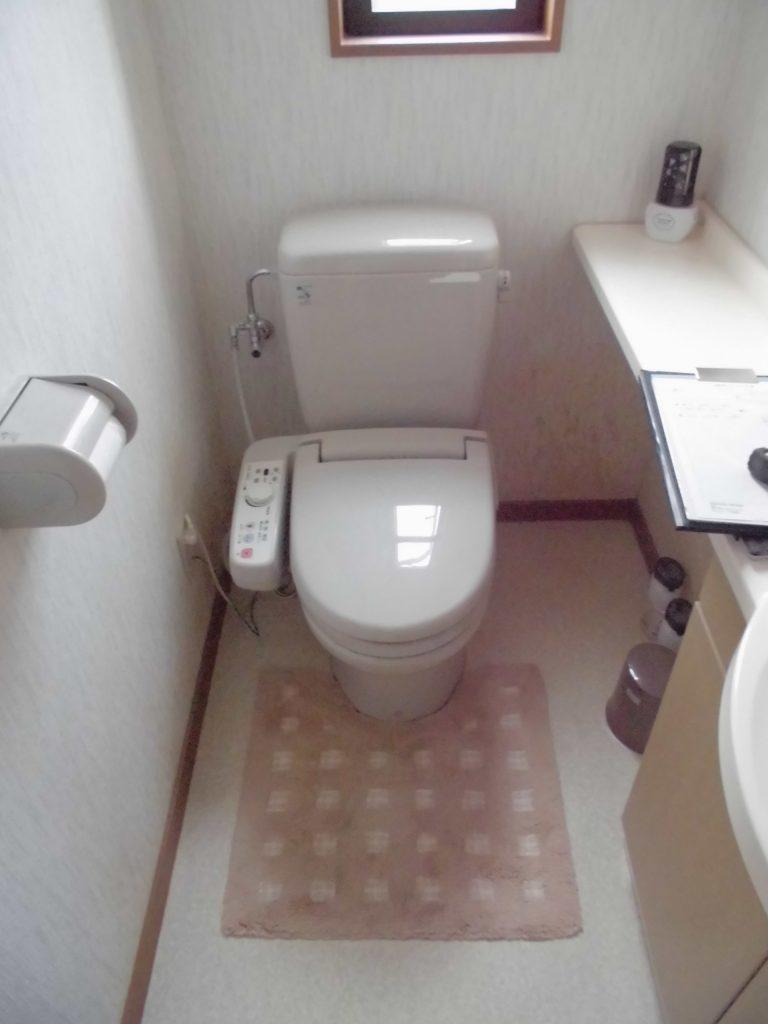ホーロークリーンパネルでお手入れ簡単♪トイレ改装工事