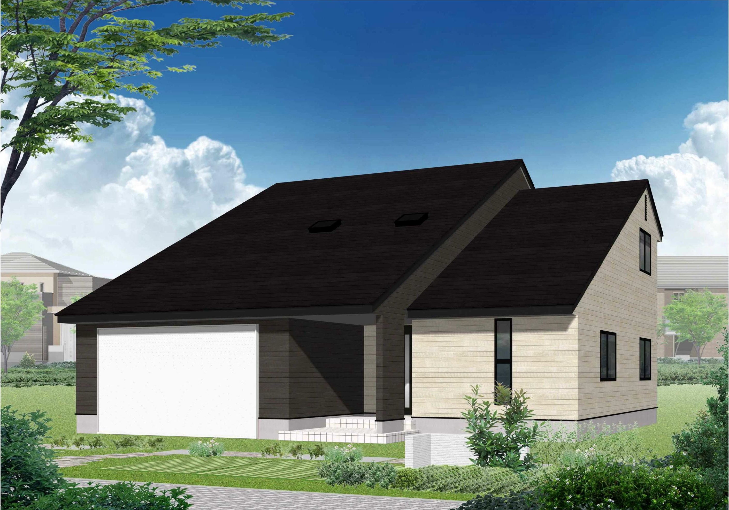外壁と屋根のフルリフォーム