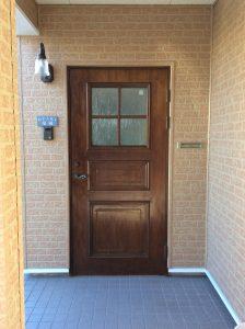 ドア 塗装