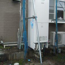 【魚津市工事中】築25年オスカーホーム キッチン断熱窓外壁リフォーム工事の画像