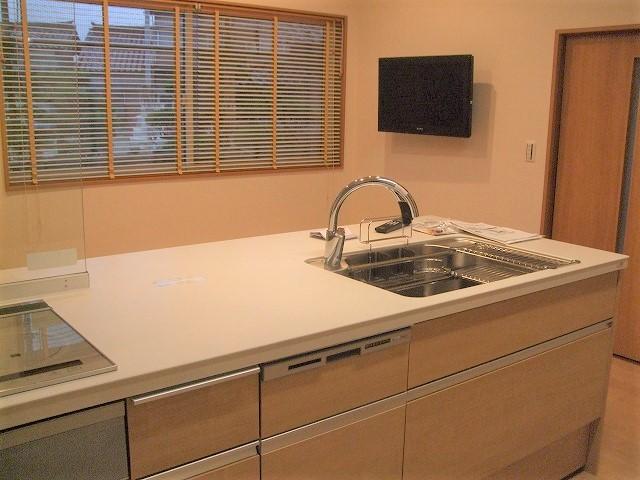 【入善町完成】キッチンがリビングになる♪LIXILリシェルSiセラミックカウンター