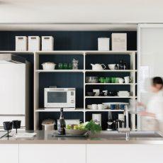 キッチンの収納・片付けが苦手な人に、ビルドインキッチン収納「フリモ」の画像