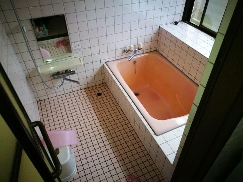 浴室リフォーム 1.25坪サイズ「TOTOサザナ」快適ワイド浴槽