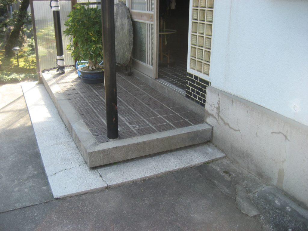 玄関段差を軽減!安心安全な玄関へ