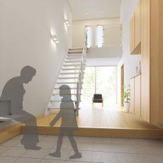 玄関ベンチの便利な使い方と設置方法の画像