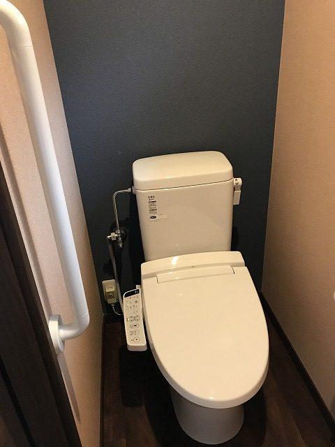 昔ながらの別れたトイレを快適な洋式トイレに改装