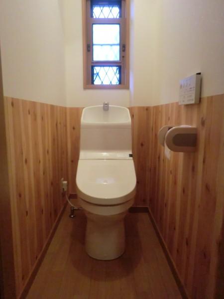 ウォシュレット一体型トイレに入替え