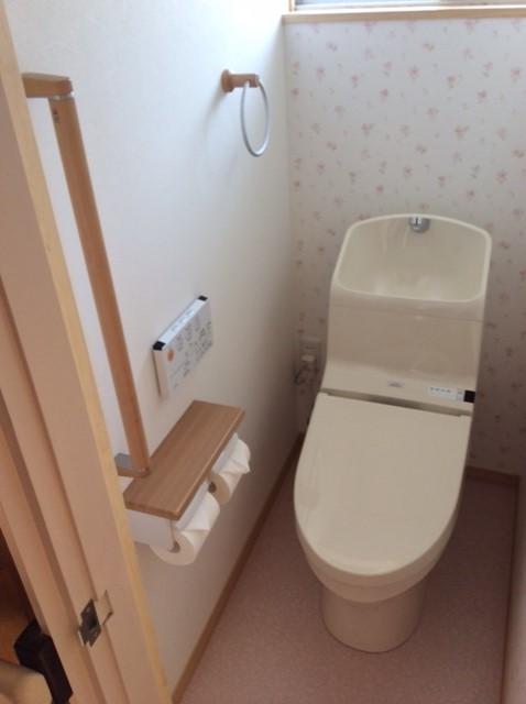簡易洋式トイレから快適な洋式トイレに改装