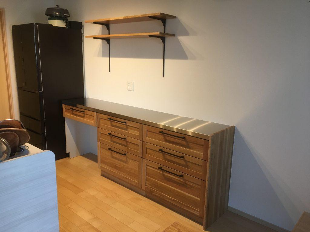 たくさんの物がキレイに片付くキッチン収納