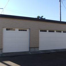 【上越市 完成】3台入り車庫キャナディーの画像
