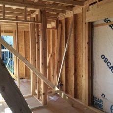 サニタリースペース増築工事+外装工事の画像
