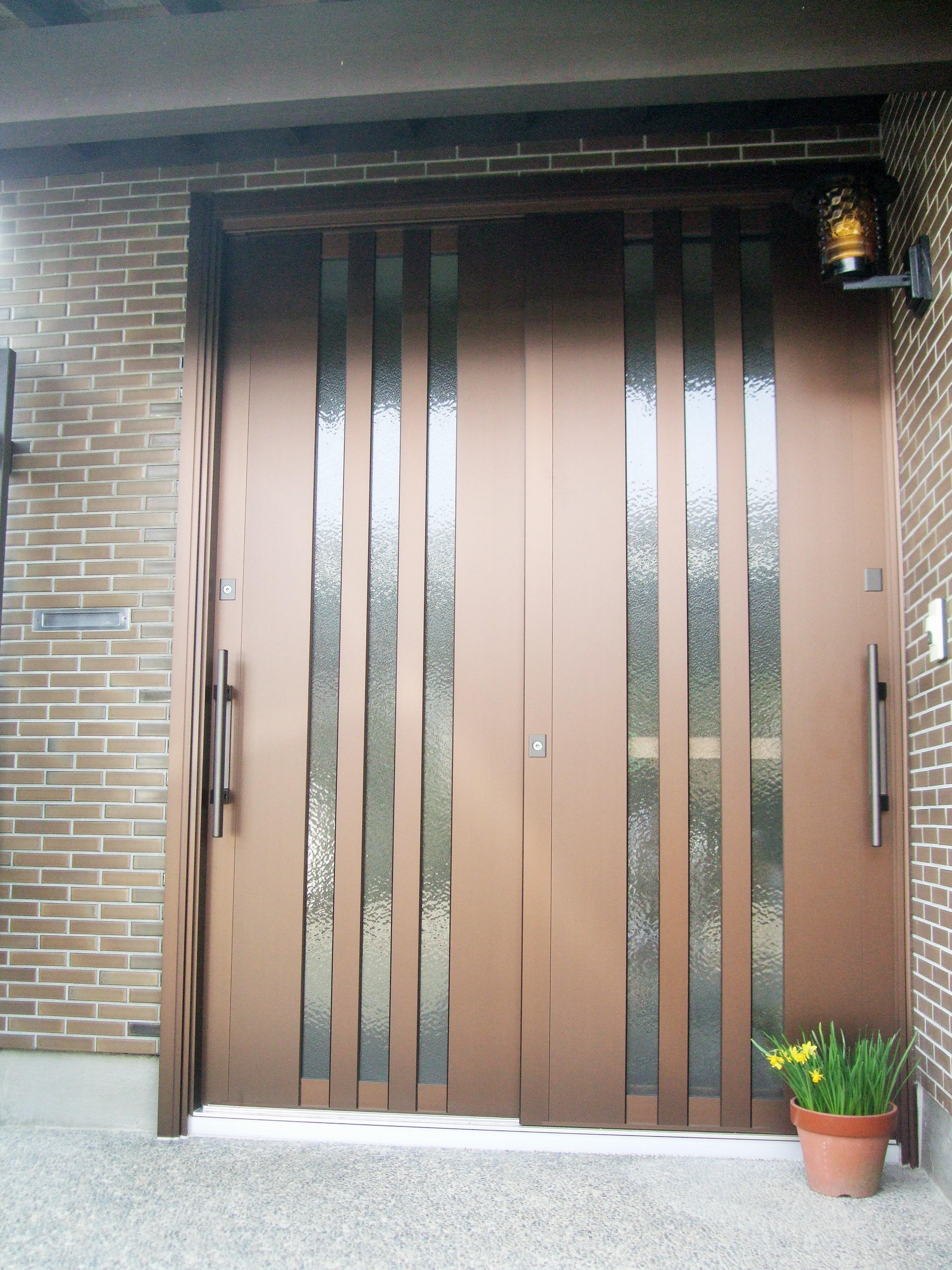 ドアリモで安心安全な玄関になりました。