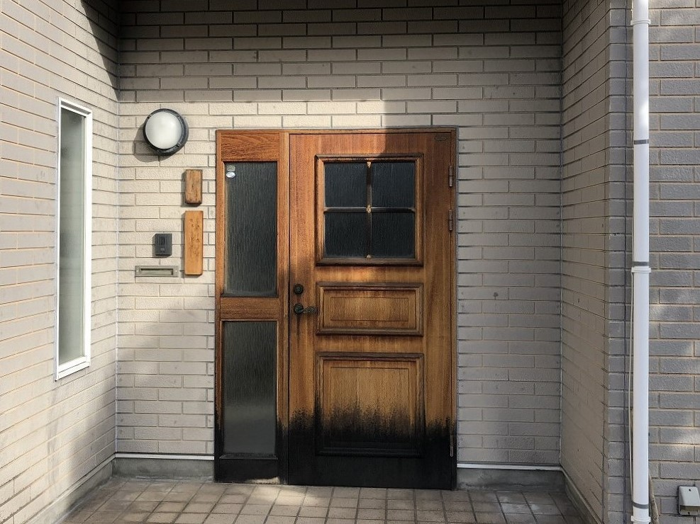 玄関ドア取替工事 1日で施工完了のドアリモ スマートコントロール付き