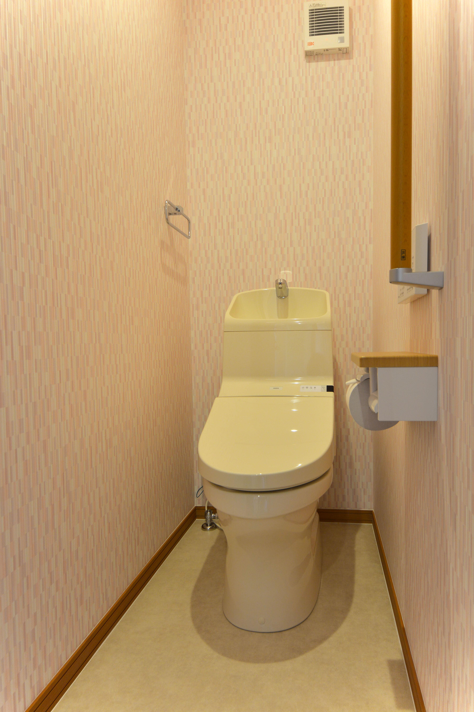 改装工事・床の間がトイレに変身!