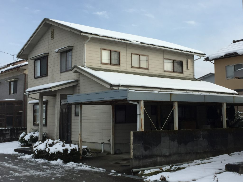 富山県 上市町 築30年の外壁・屋根リフォーム工事
