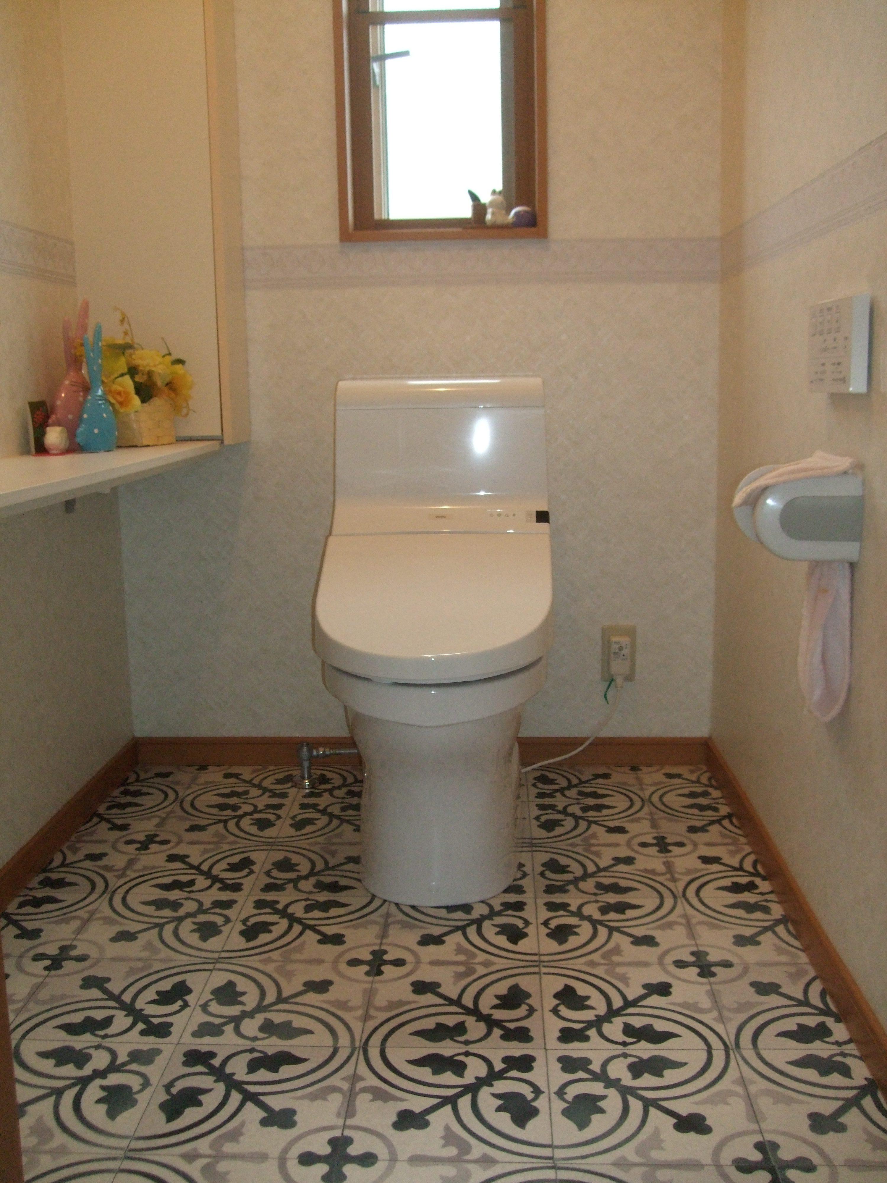 トイレ空間をオシャレにイメージチェンジ!
