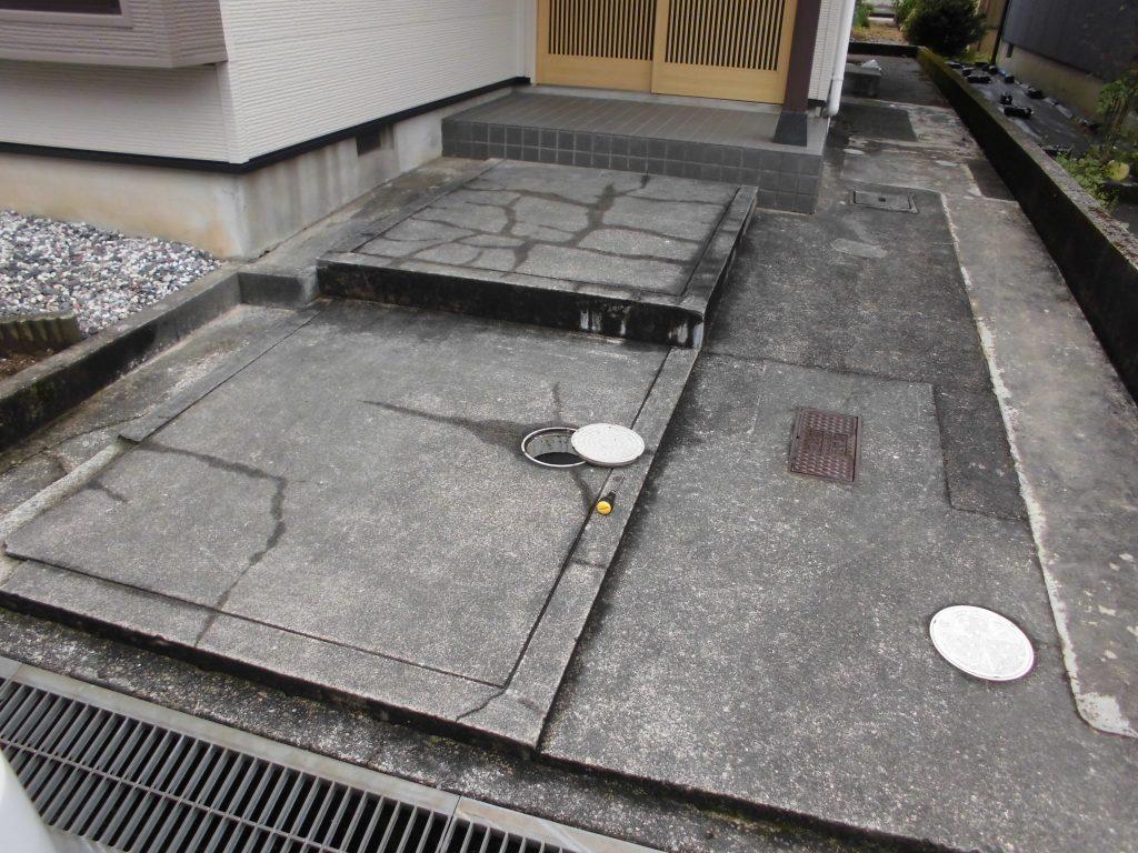 玄関アプローチ改修工事