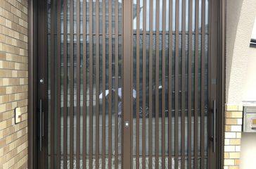 玄関引違サッシリフォーム YKKap『ドアリモ』で1日でプチリフォーム