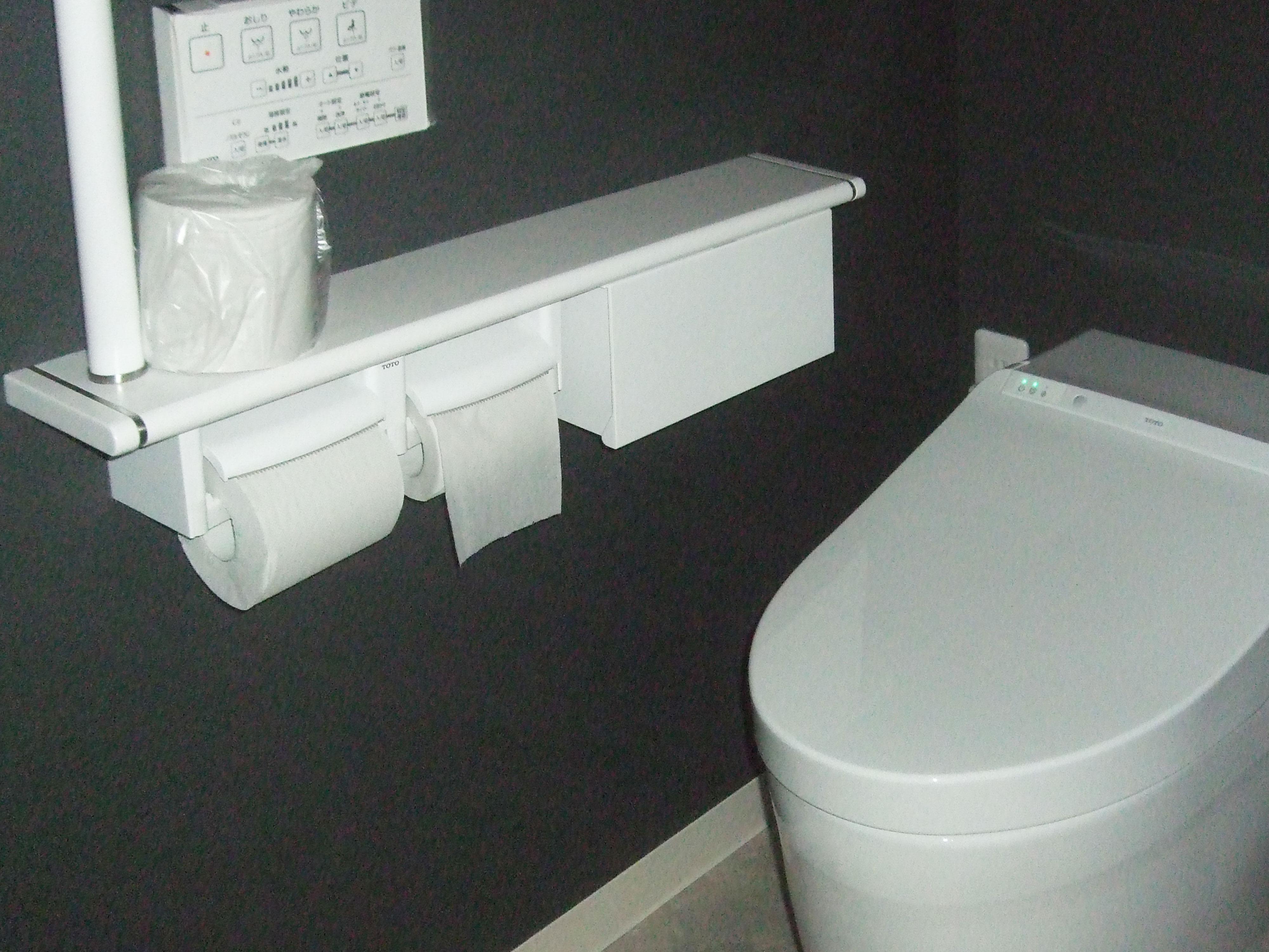 和式トイレからガラッと変身!落ち着きあるトイレへ