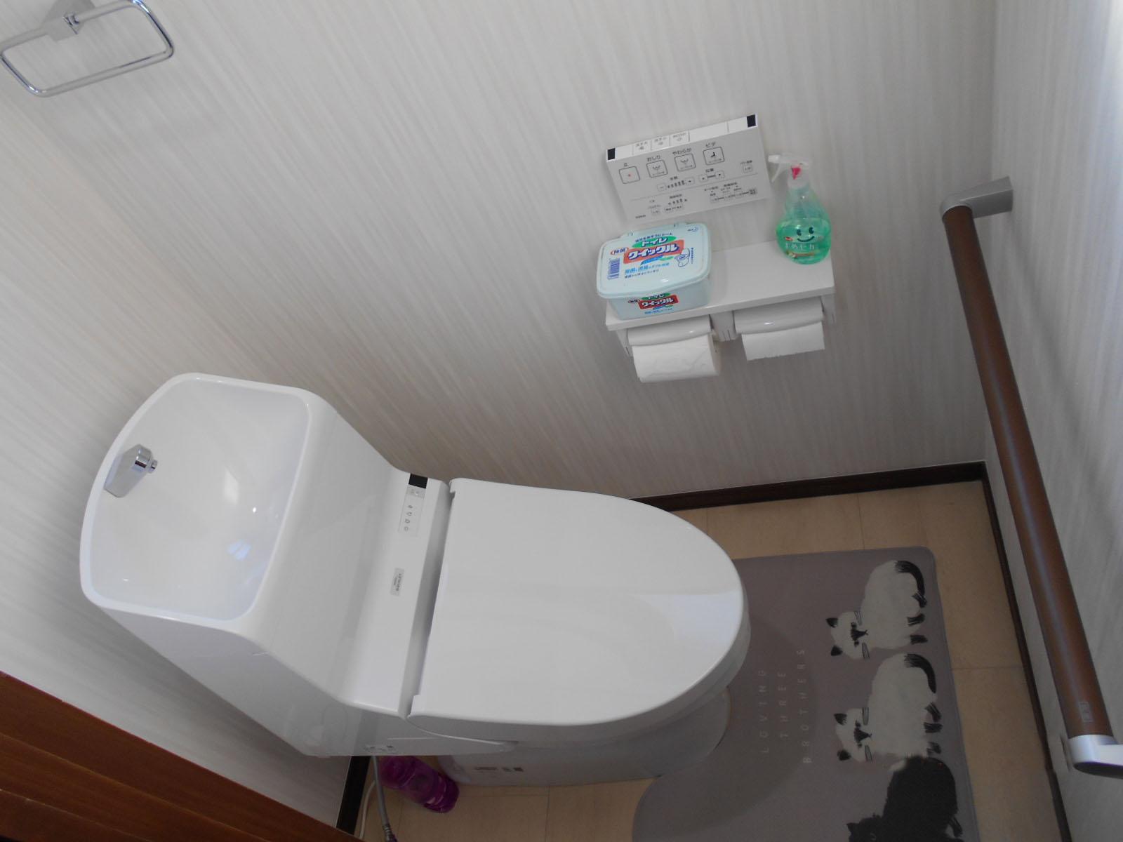 トイレ「TOTO ZJ」へ入替え