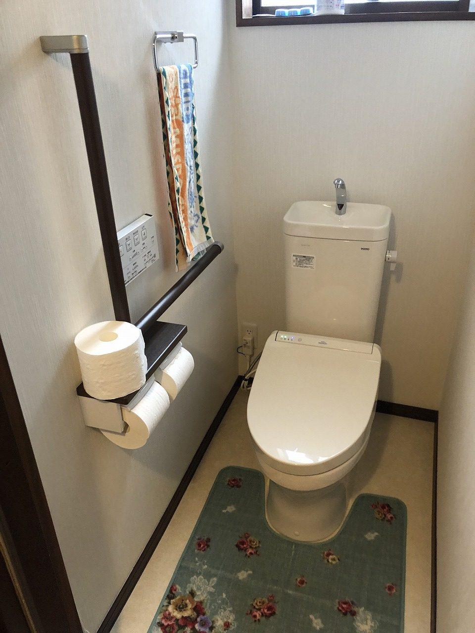 トイレ改装工事 和式から様式へ