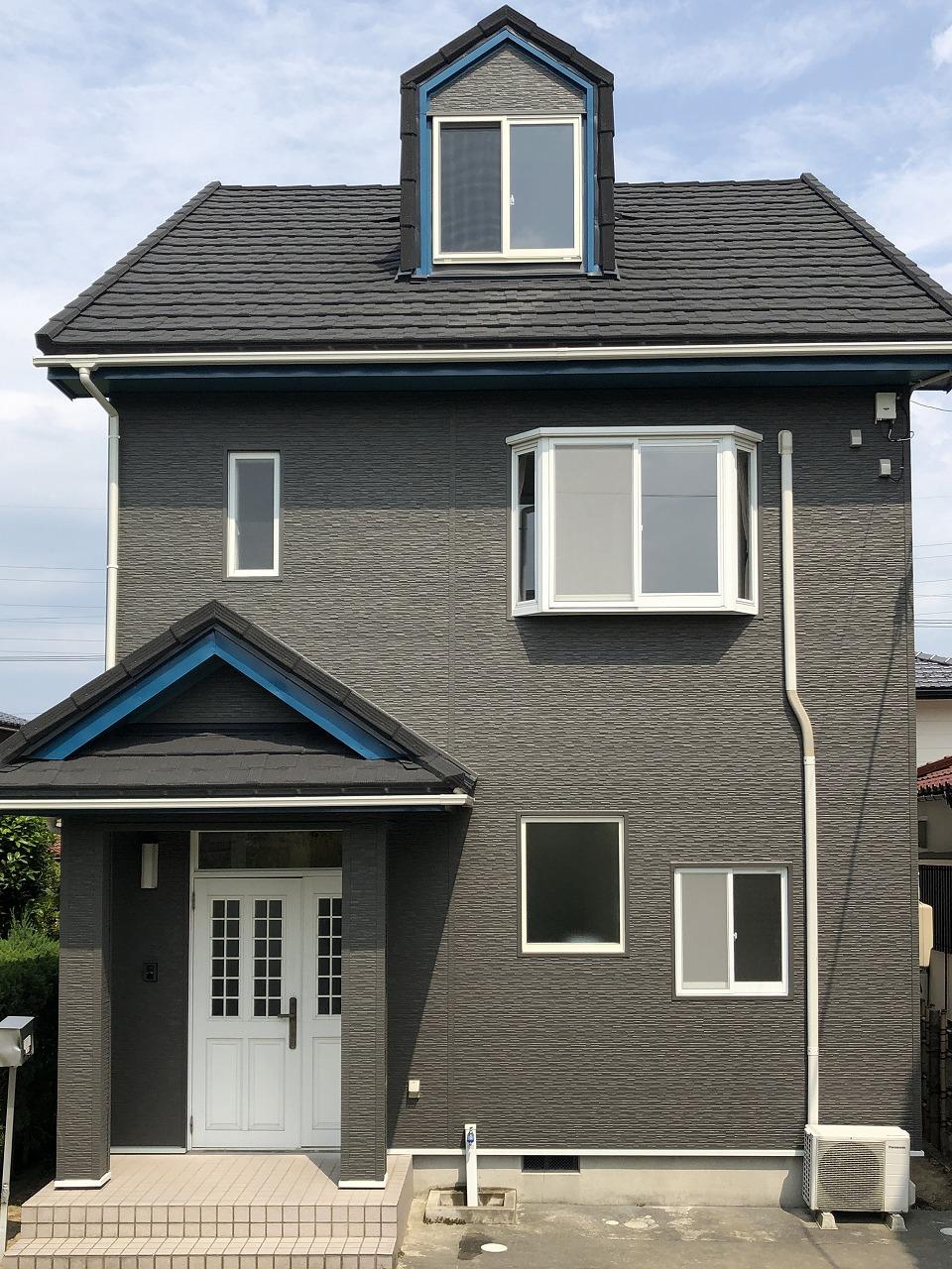 屋根重ね葺き・外壁金属サイディング重ね張り