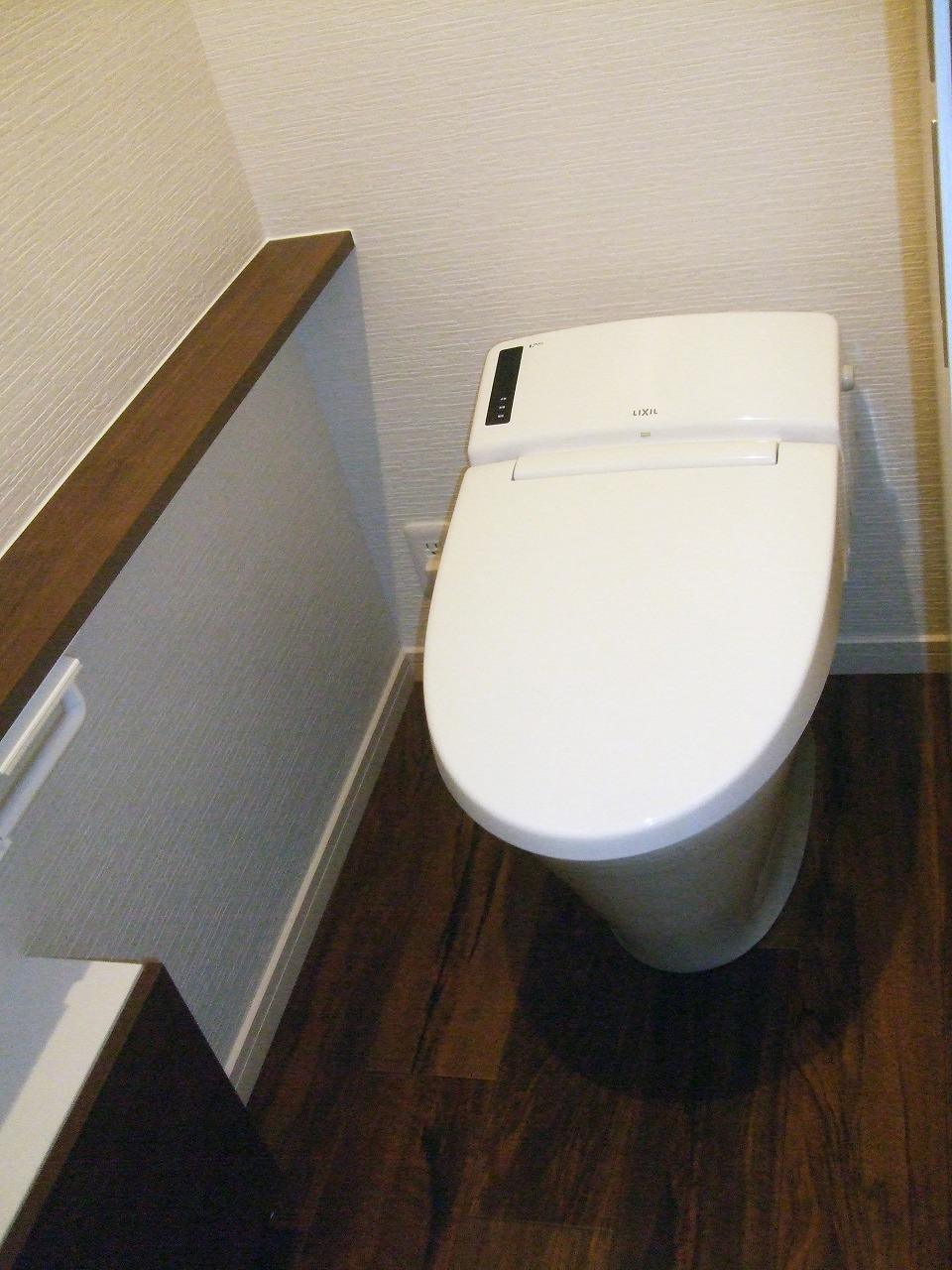 2つのトイレ掃除から1つに減りお掃除手間も減り快適