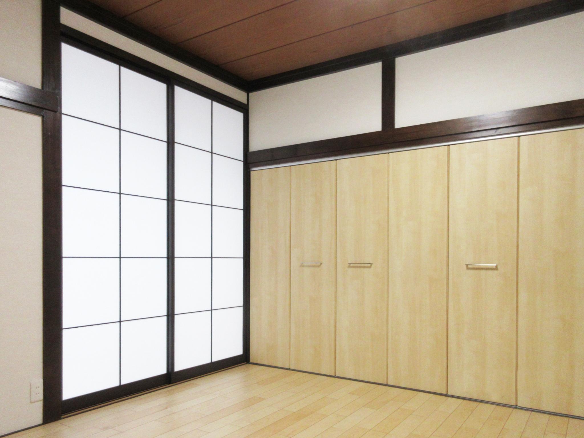 和室改装工事 和室から洋室へ