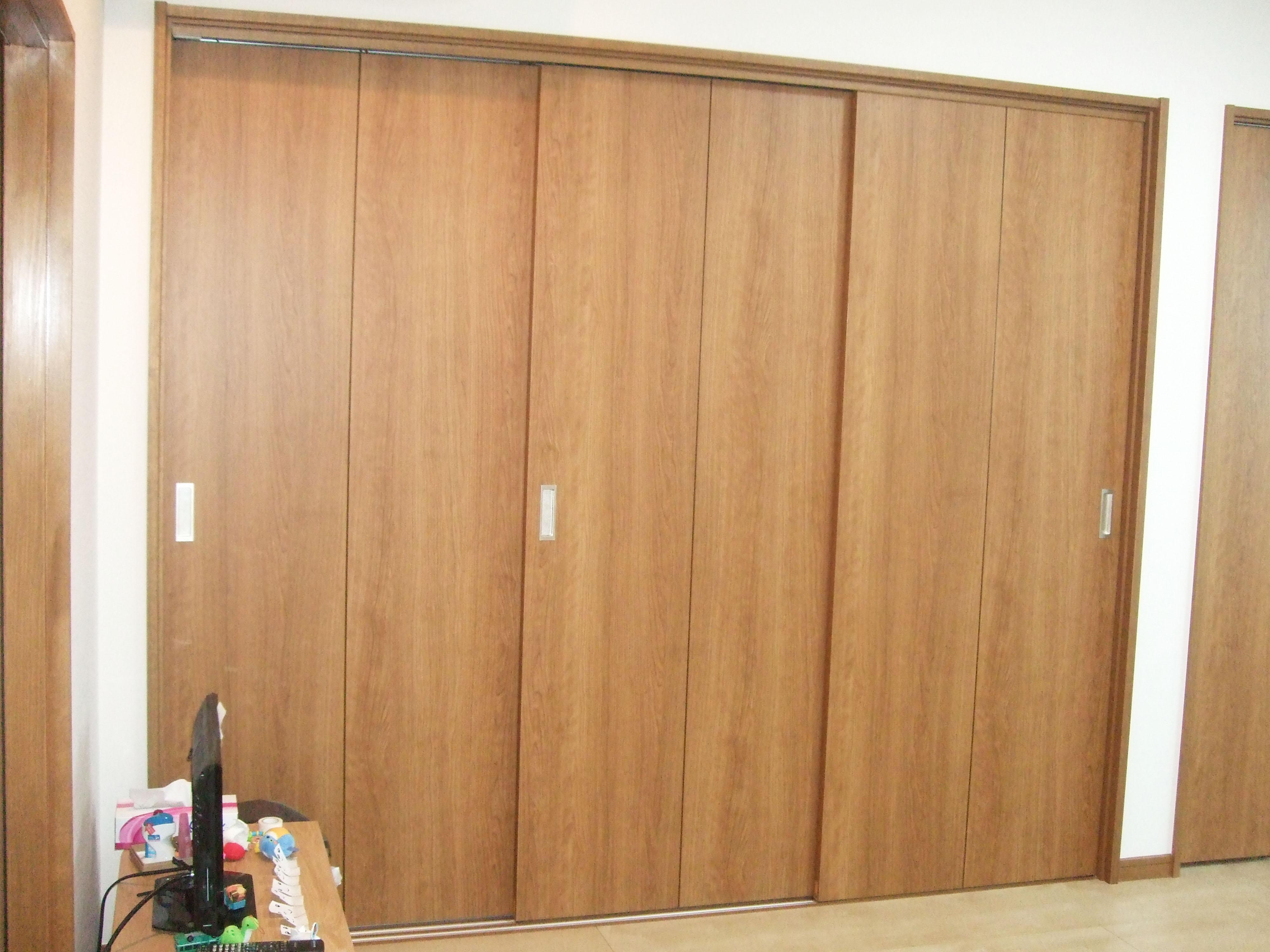 押入れ襖戸から3枚引戸へ