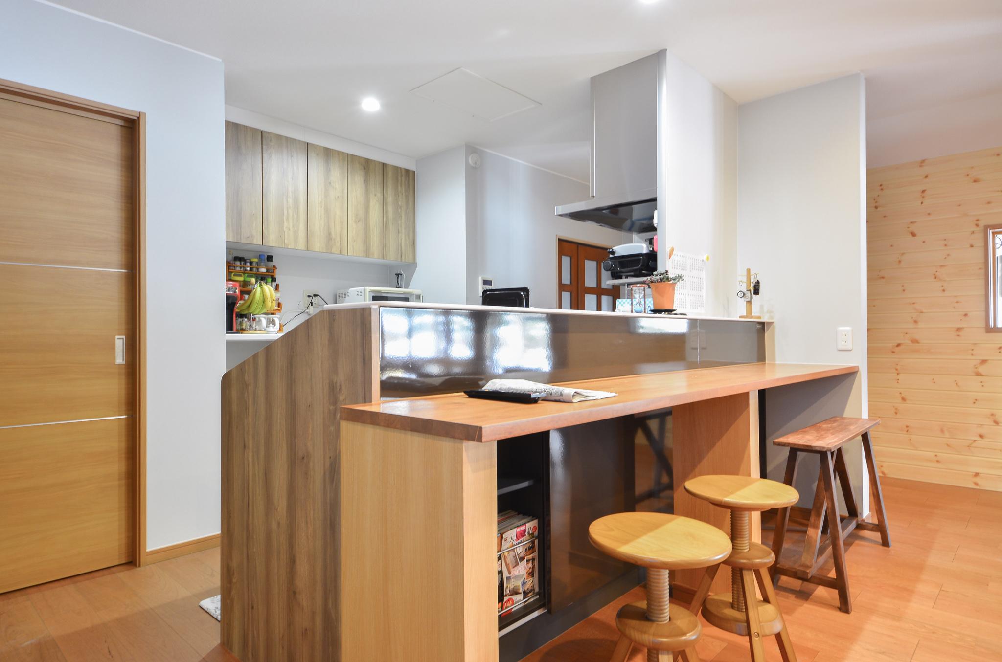 居室をキッチンに大改装!