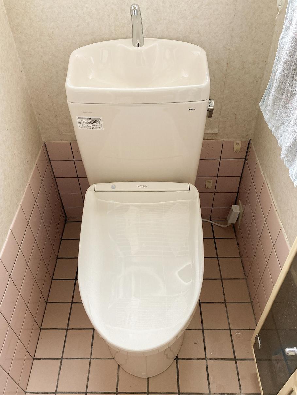 トイレ入替え工事