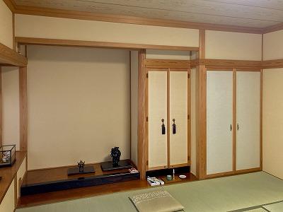 和室塗り壁からクロスへ