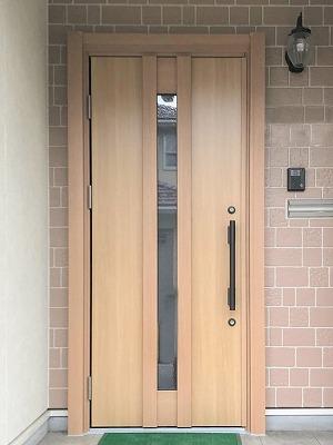 ドアリモで新しい玄関ドアへ!