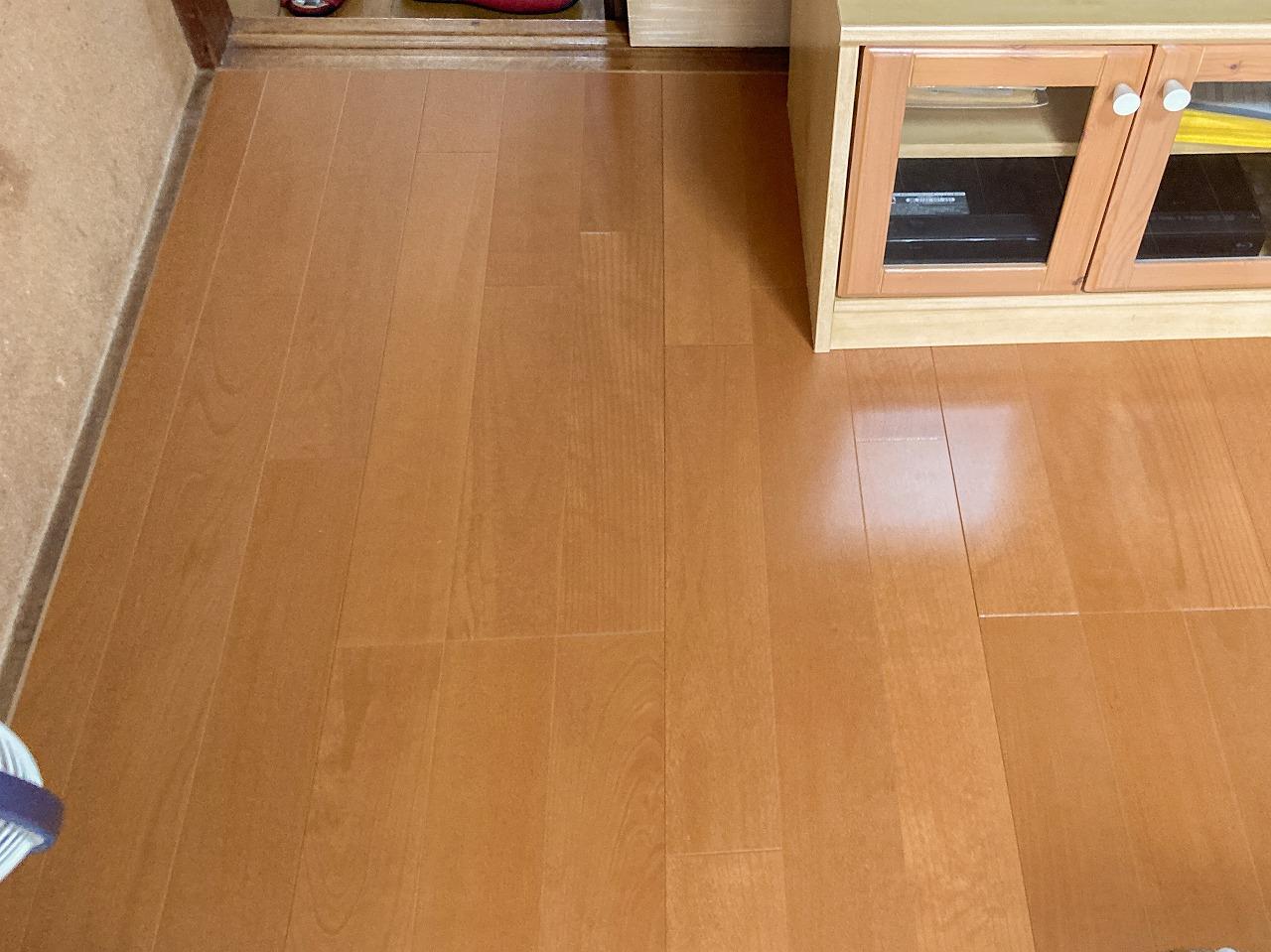 白蟻被害より束からやり替え、更に畳からフローリングへ改装