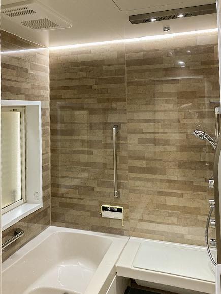 新しいお風呂で今日からおうちでリラクゼーション